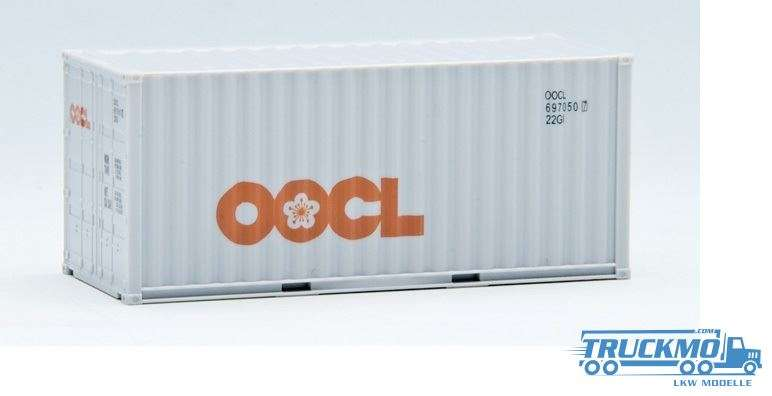 AWM OOCL 20ft. Container gerippt 491375