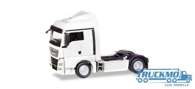 Herpa MAN TGX XLX Euro 6c Zugmaschine weiß 308342
