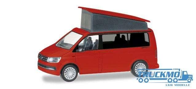 Herpa VW T6 California, kirschrot 028745-002