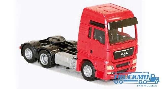 AWM MAN TGX XXL 3 axle red 8039 51