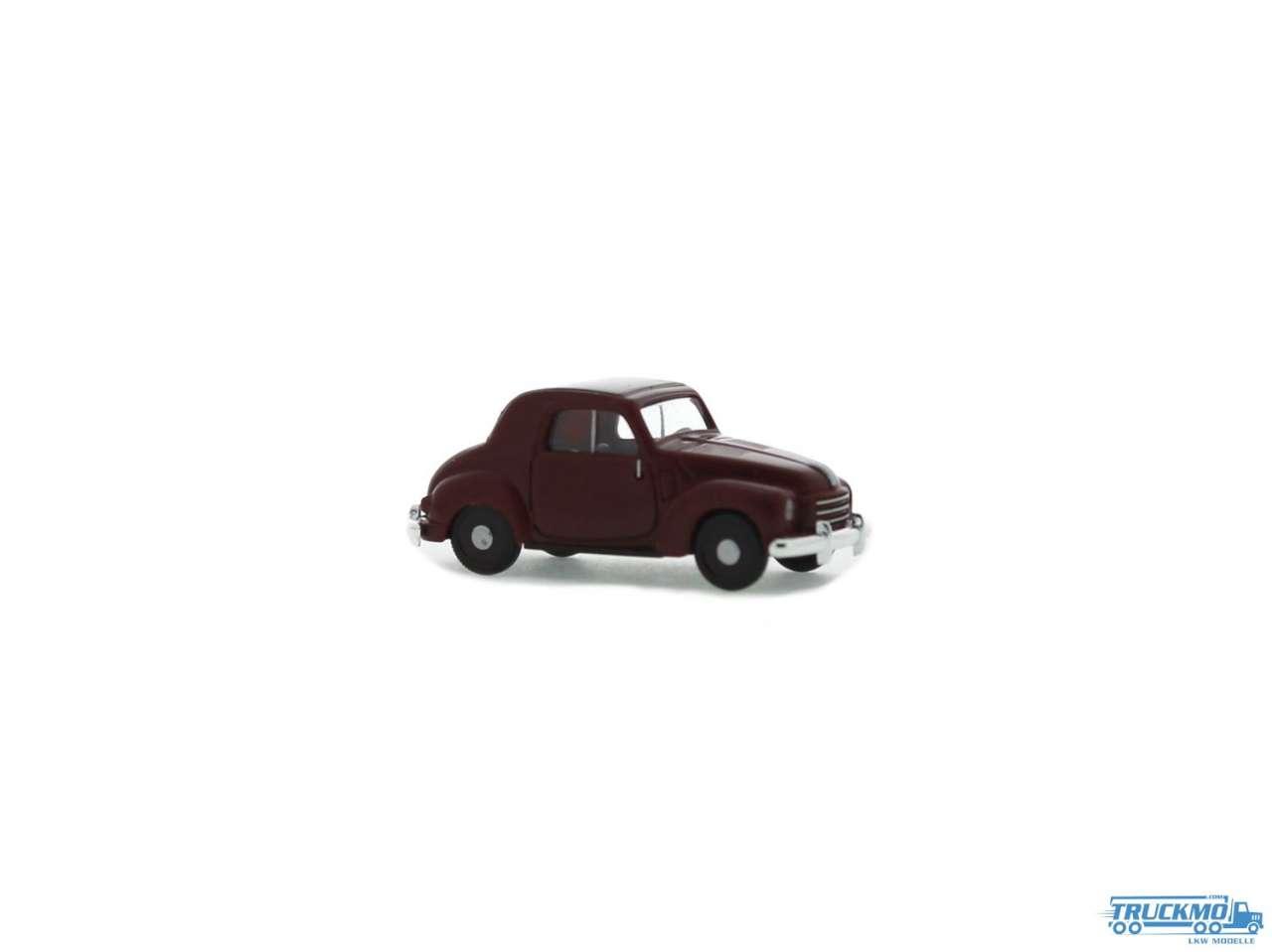 Rietze Fiat 500 C Topolino Limousine weinrot 83100