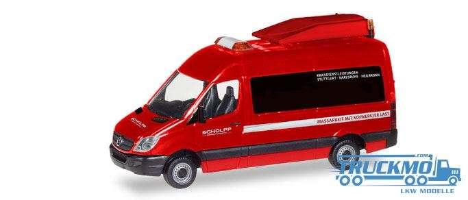 Herpa Scholpp Mercedes-Benz Sprinter BF3 093514