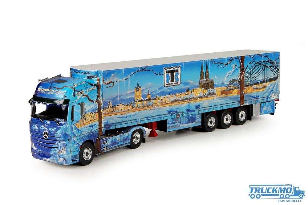 Tekno Schumacher Köln Truck Mercedes Benz Actros Gigaspace mit Kühlauflieger 68209