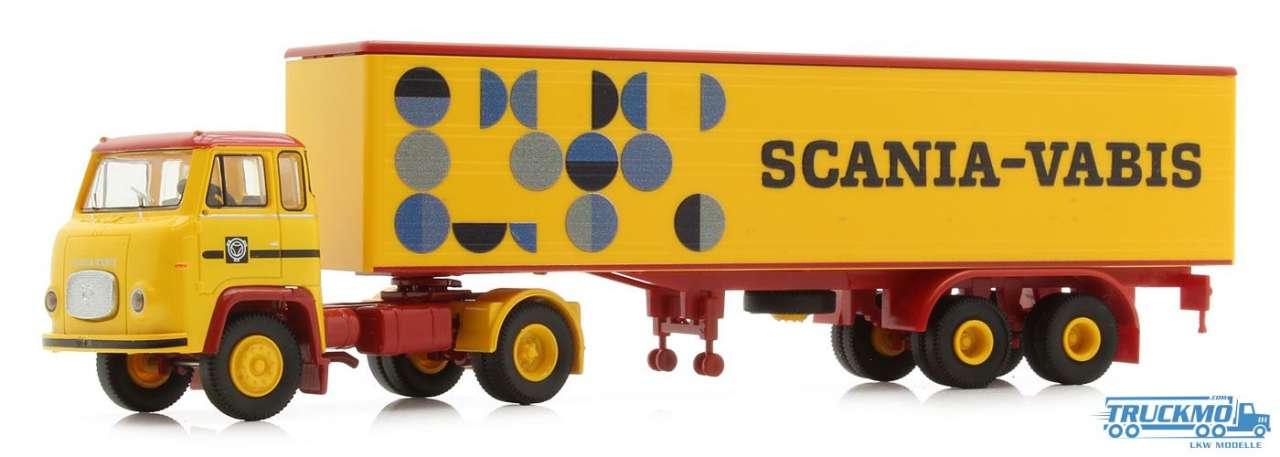 Brekina Scania Vabis Scania LB 76 Koffer-Sattelzug 85150