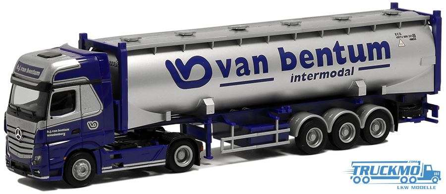 AWM Van Bentum Mercedes Benz Actros Gigaspace Silo-Container 53784
