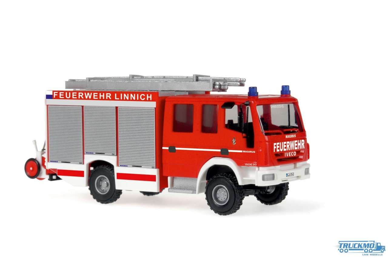 Rietze Feuerwehr Linnich Iveco Magirus Alufire 3 HLF 20/16 61247