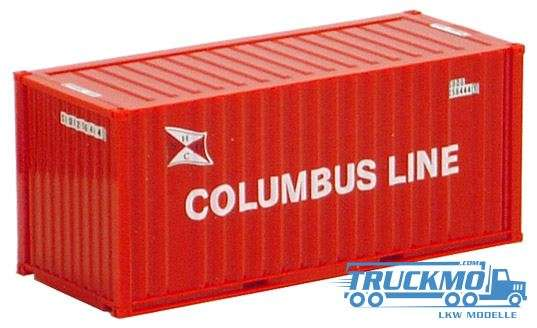 AWM Columbus Line 20 ft. Container 491336