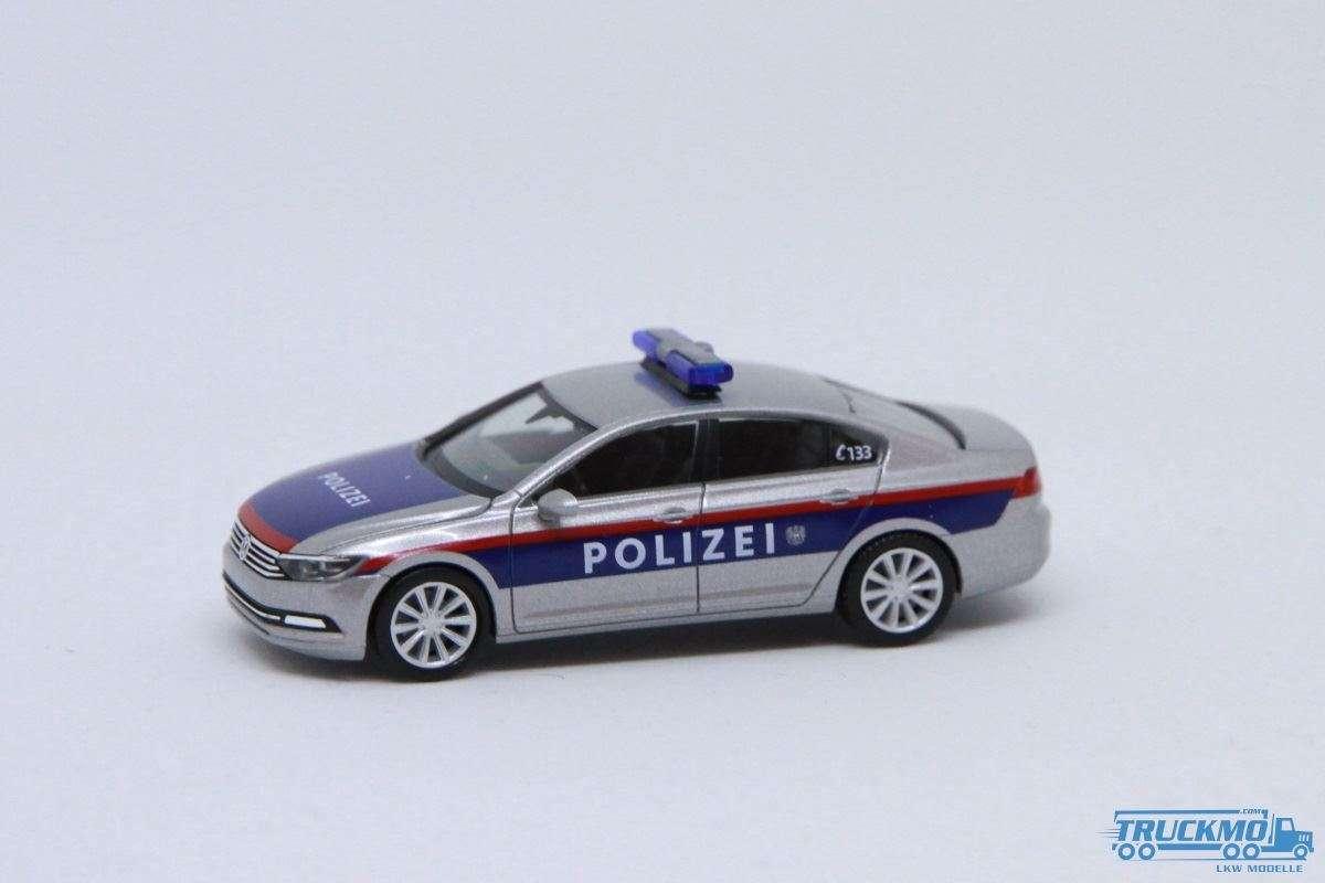 Herpa Polizei Österreich VW Passat Limousine 929684