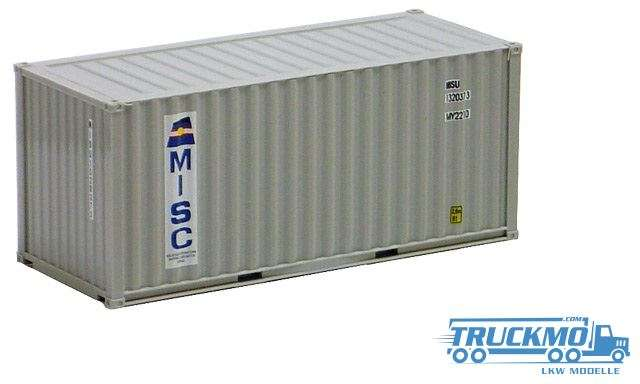 AWM Misc 20ft. Container grau 491326