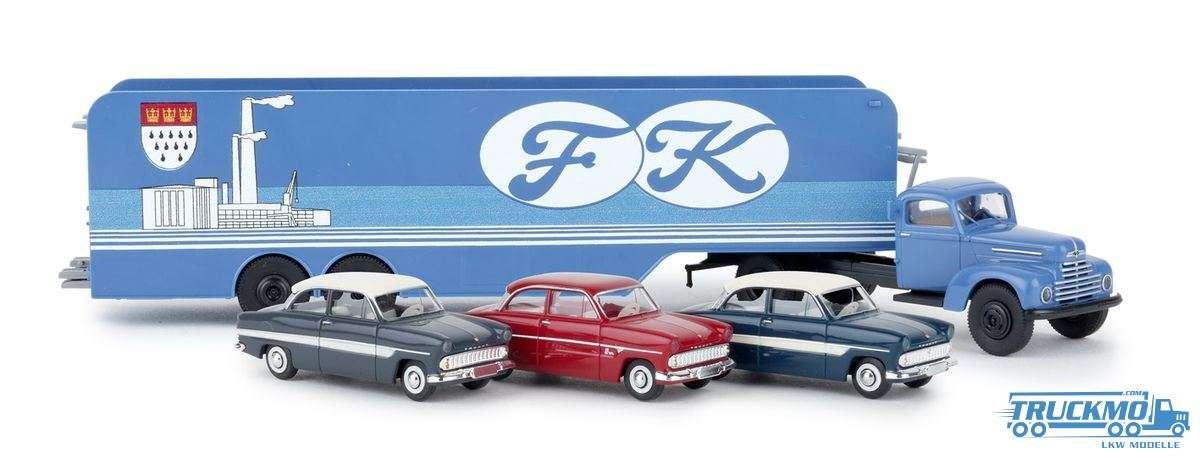 Brekina Ford Köln Ford FK 3500 Autotransporter 49032