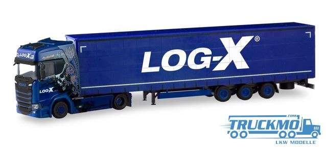 Herpa Log-X / I'mthebest Scania CS 20 HD Lowliner-Sattelzug 310413