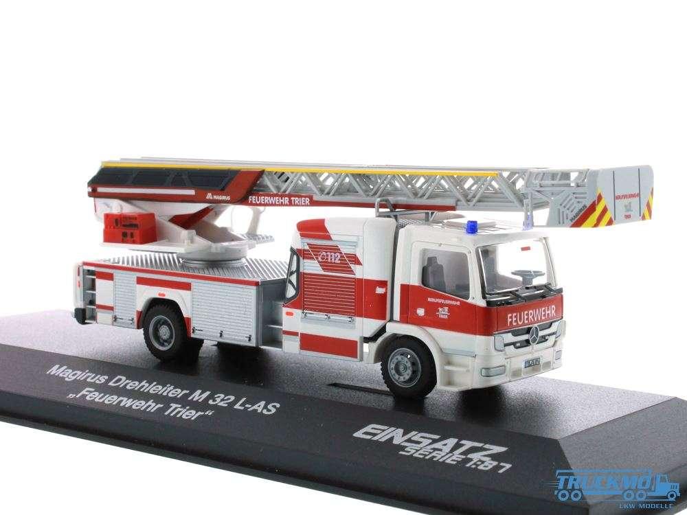 Rietze Feuerwehr Trier Mercedes Benz Magirus DLK M32 L-AS Euro 6 72801