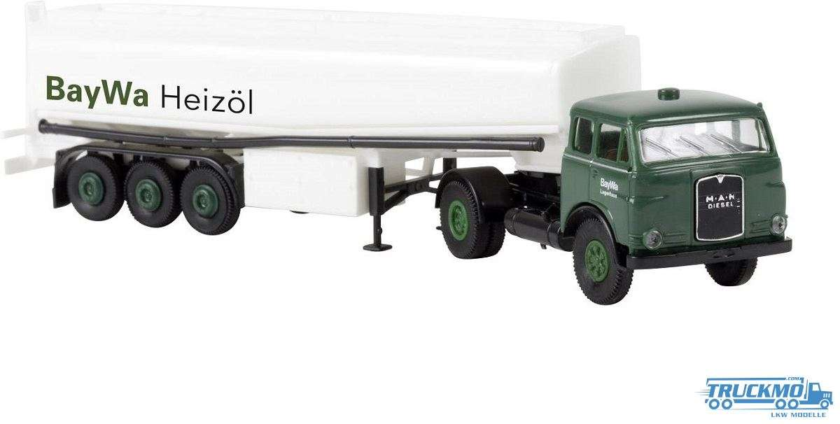 Brekina BayWa Heizöl MAN 10.212 FS Tank-Sattelzug 97808