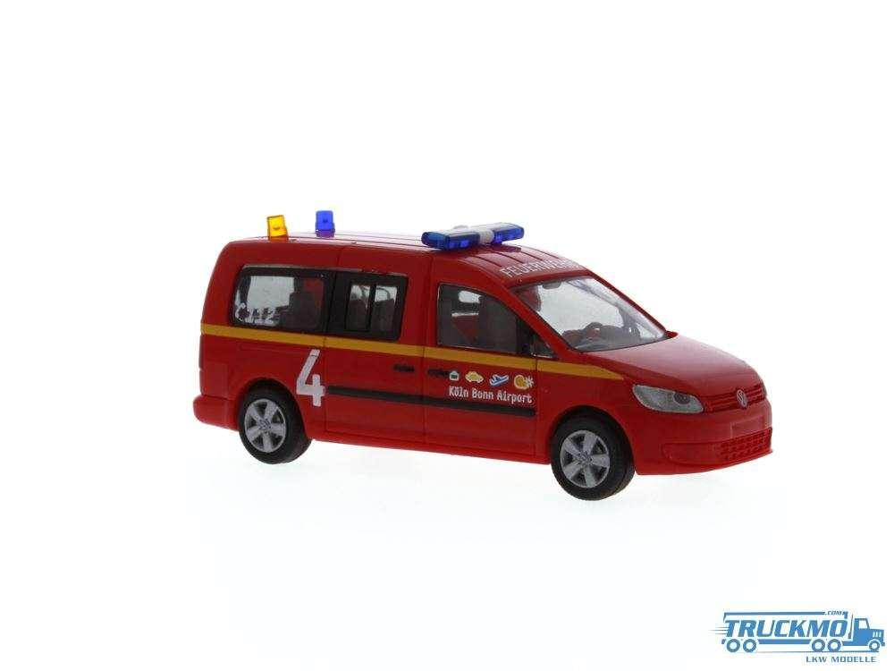 Rietze Flughafenfeuerwehr Köln/Bonn Volkswagen Caddy Maxi 11 52710