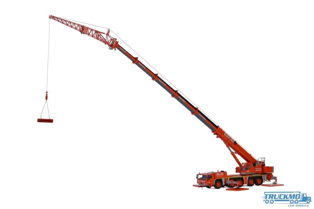 WSI Davies Crane Hire Tadano ATF220G-5 Euro 4 Mobilkran Modell 51-2032
