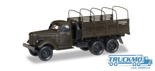 Herpa ZIL 151 Planen-LKW mit Spriegel Streitkräfte der UDSSR Militär 745369