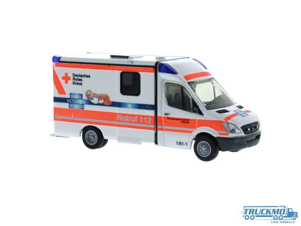Rietze Babynotarzt DRK Böblingen Mercedes Benz Strobel Rettungswagen 61742