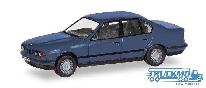 """Herpa BMW 5er Limousine (E34) """"Herpa-H-Edition"""" (mit Kennzeichenbedruckung) 028936"""