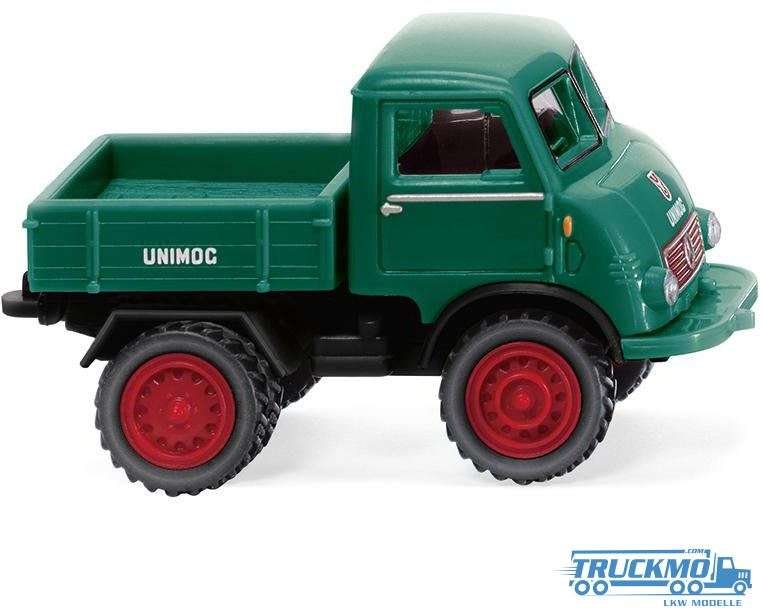 Wiking Unimog U 401 moosgrün 036803