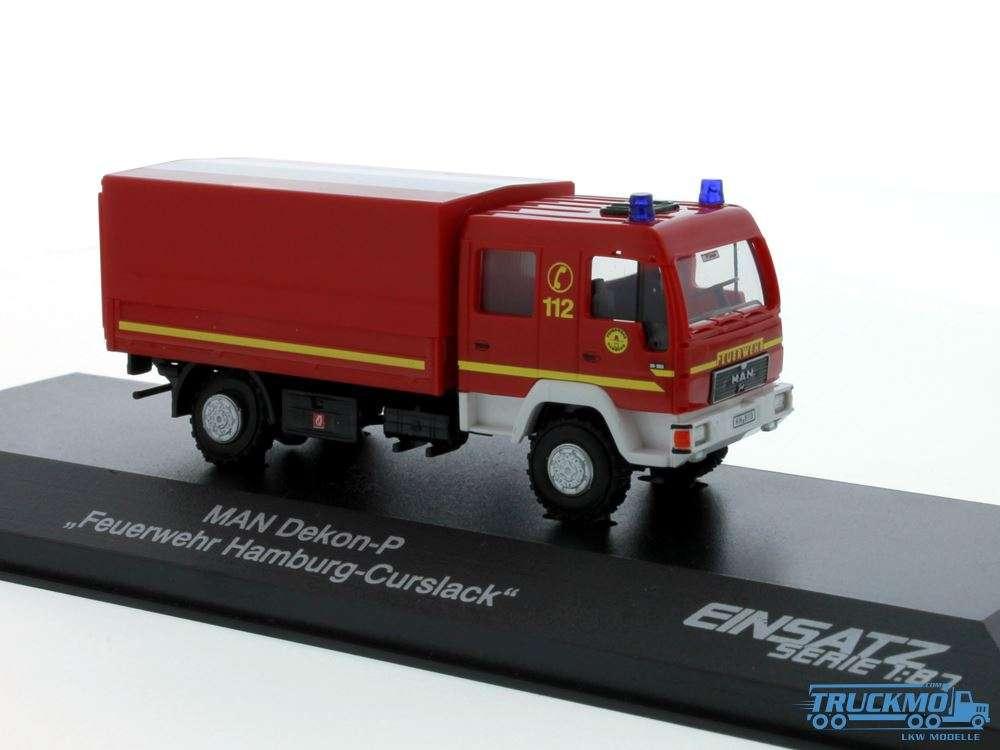 Rietze Feuerwehr Hamburg-Curslack MAN Dekon-P 68045