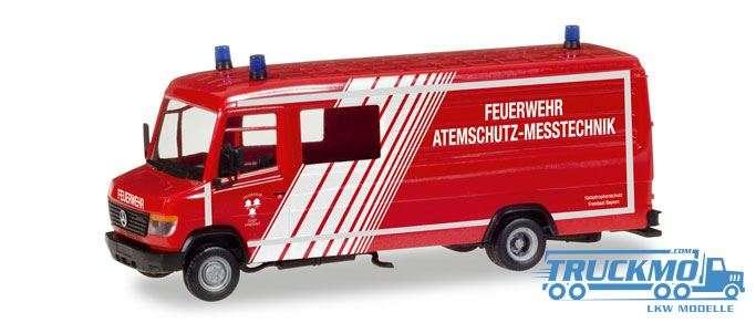 Herpa Feuerwehr Landshut Mercedes-Benz Vario Langkasten GW-A/S 093545