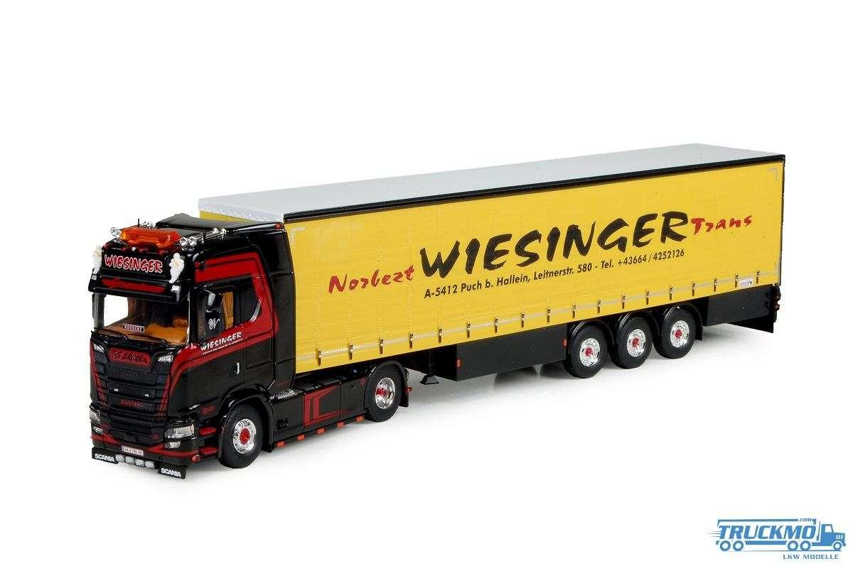 Tekno Wiesinger Scania S580 Planenauflieger 74087
