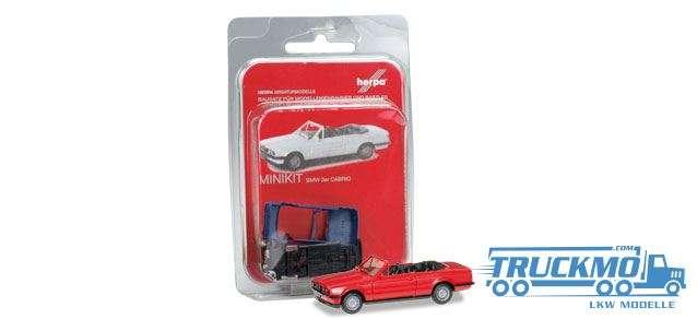Herpa MiniKit: BMW 3er Cabrio, rot 012225-005