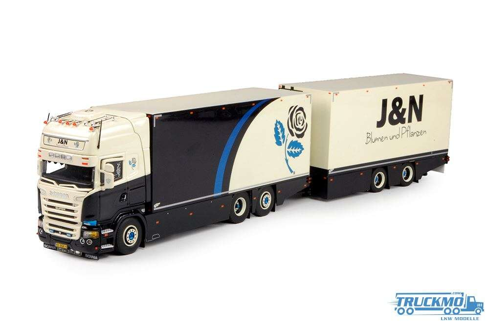 Tekno J&N Blumen Scania R Streamline Topline Hängerzug 70347