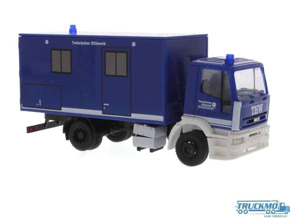 Rietze THW Bremen Iveco Eurotech Koffer 60643