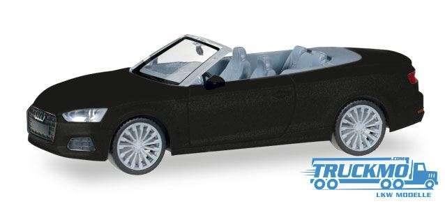 Herpa Audi A5 Cabrio mythosschwarz metallic 038768