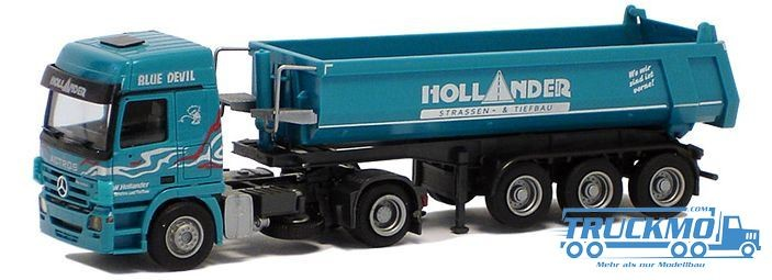 AWM Hollander Mercedes Benz Actros MP2 L-(C)Mulden-SZ