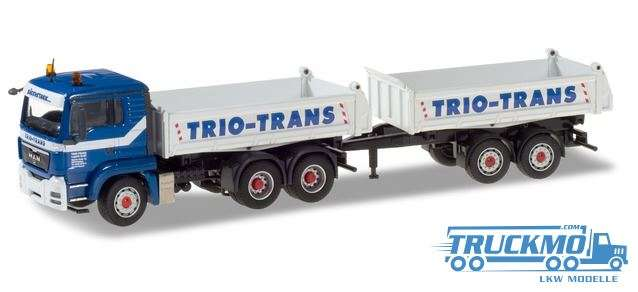 Conrad Trio-Trans MAN TGS Tandem-Baukipper-Hängerzug 071529