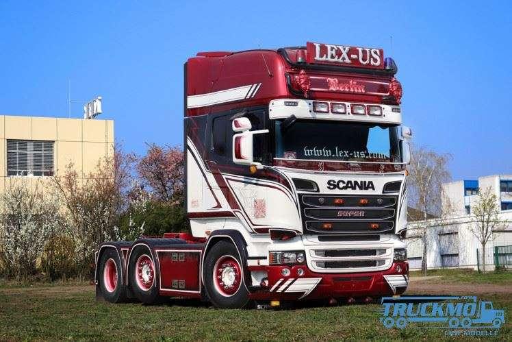 WSI Lex-US Scania Streamline Topline German Supertrucks 01-2913