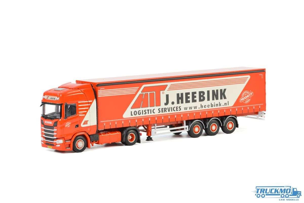 WSI Heebink Scania S Highline CS20H Planenauflieger 3 Achs 01-2788