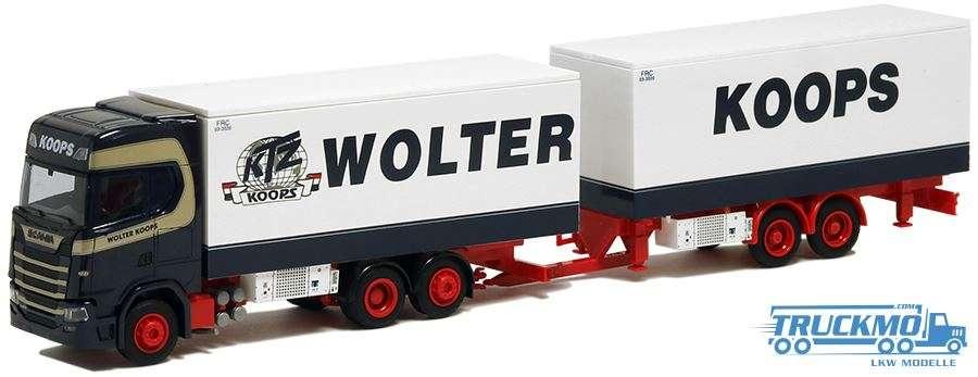 AWM Wolter Koops Scania S Kühlhängerzug 9261.01