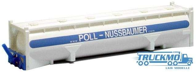 AWM Poll-Nussbaumer 40ft. Drucksilo Container 491253