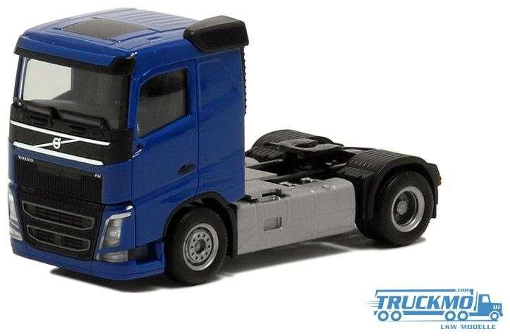 Herpa Volvo FH Flachdach blau 590705