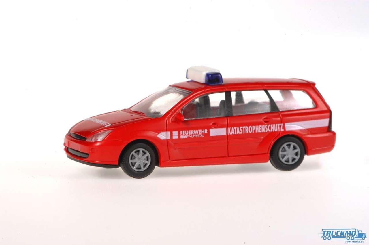 Rietze Feuerwehr Wuppertal Ford Focus Turnier 50979
