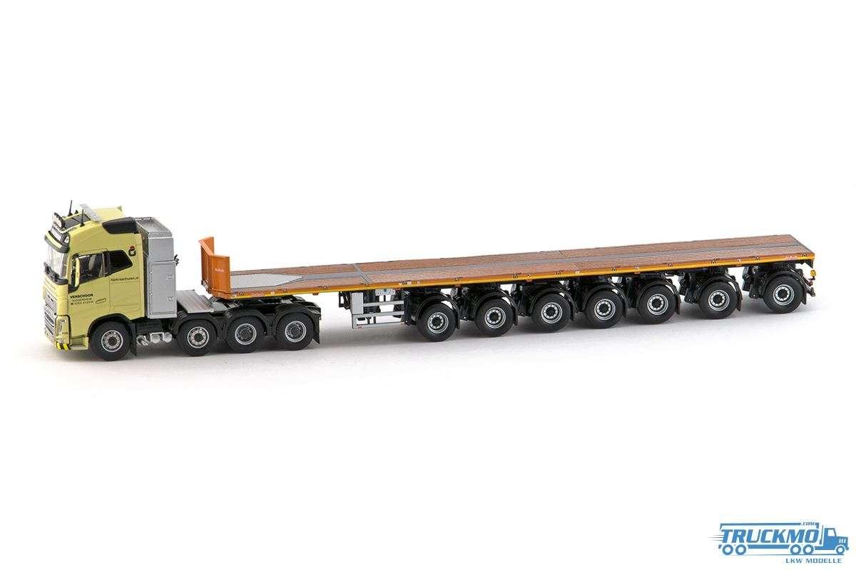 IMC Verschoor LKW Modell Volvo FH04 Globetrotter 6x4 mit Nooteboom 7 Achs Ballasttrailer 5512390