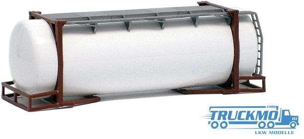 AWM 26ft. Tankcontainer weiß Rahmen braun 490081