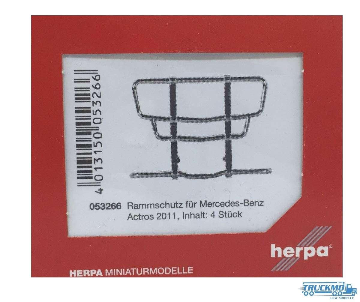 Herpa Rammschutz für Mercedes-Benz Actros 11, 4 Stück