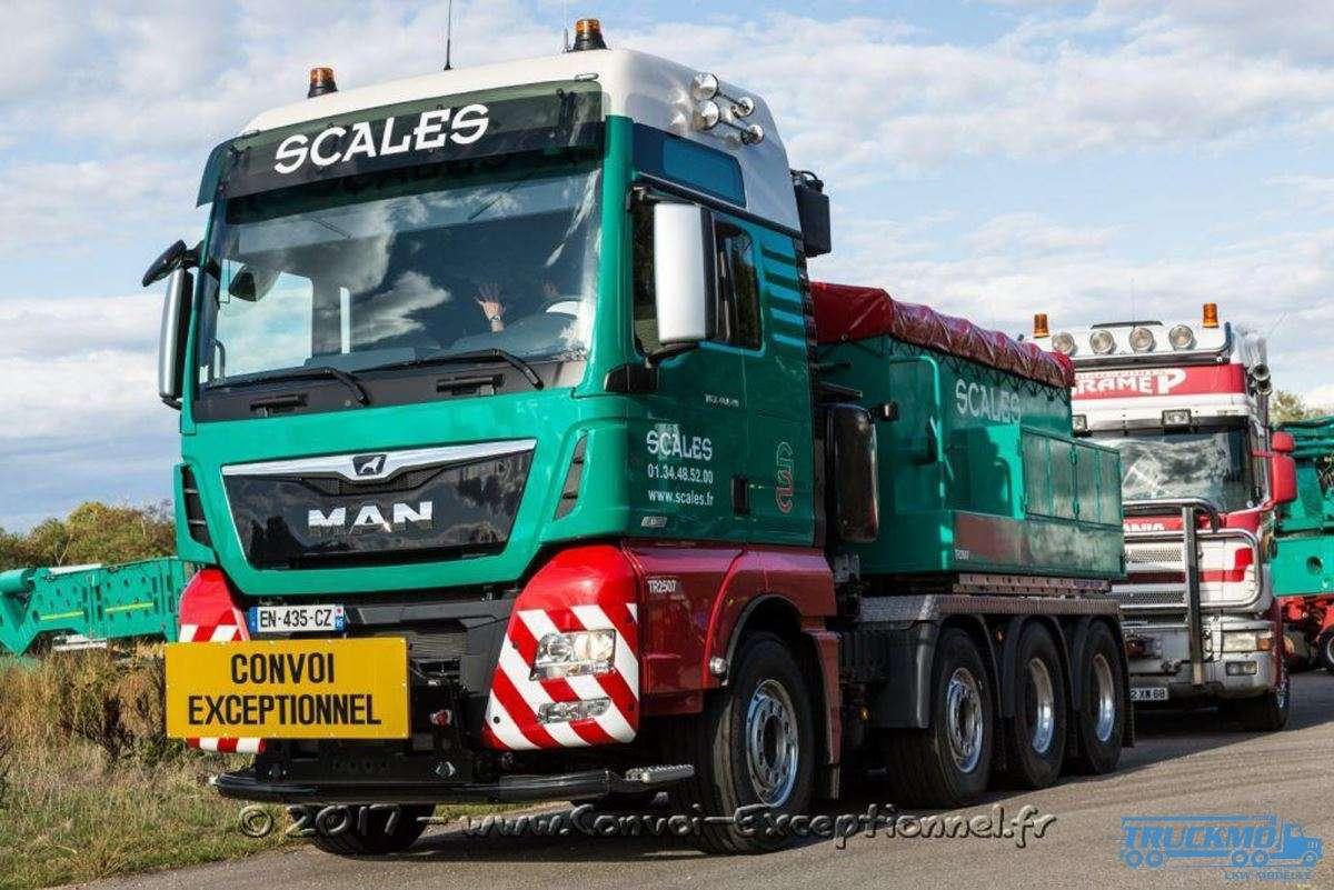 WSI Scales MAN TGX XXL Euro c Ballastbox 01-2845