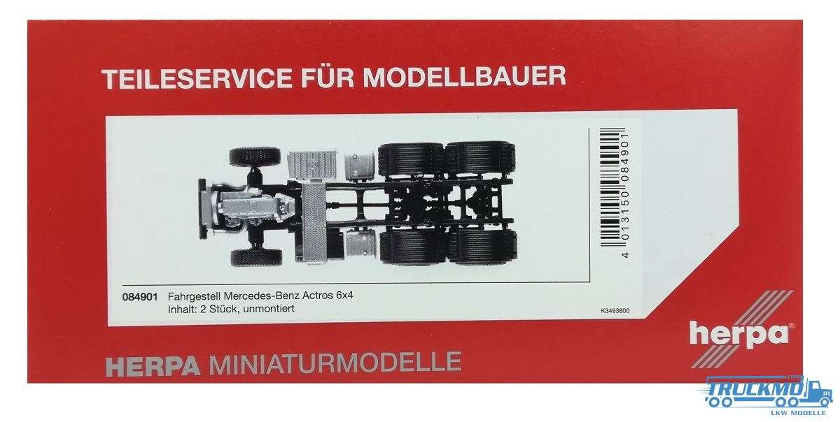 Herpa Chassis Mercedes-Benz Actros Giga/Big/Stream 6x4 084901