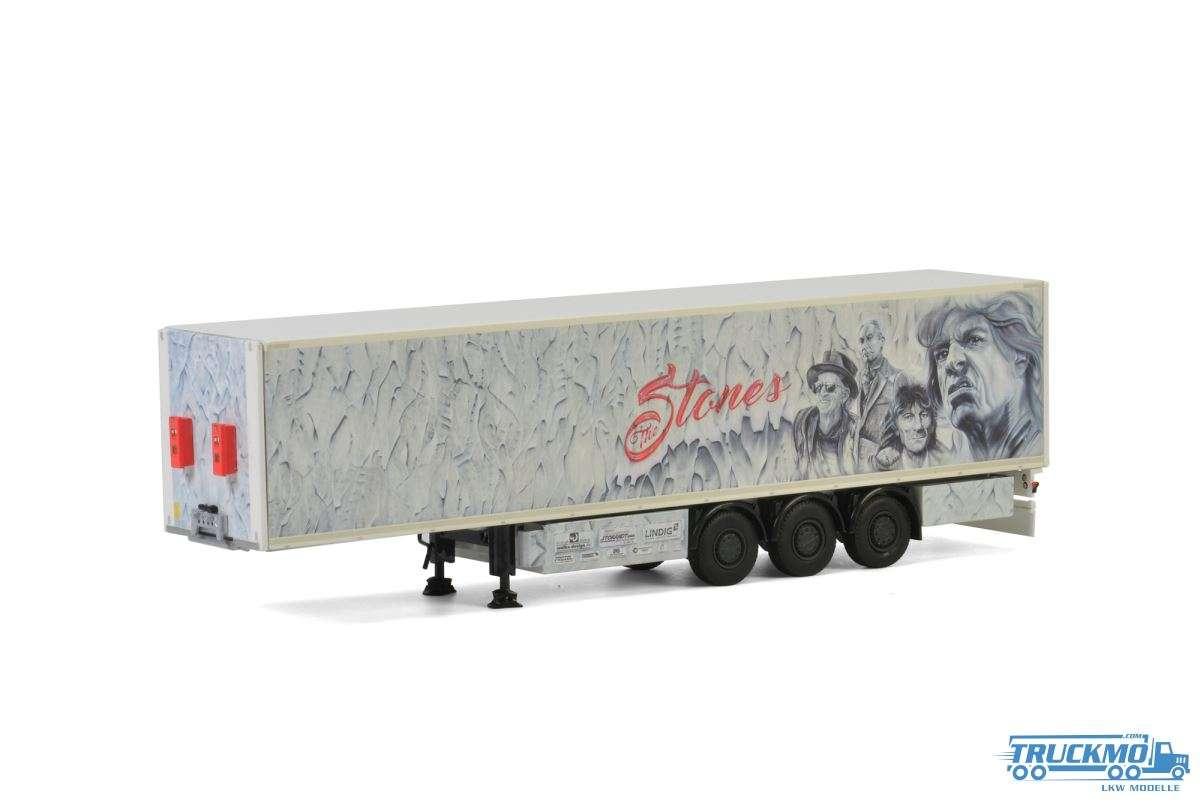 WSI Nößler Rolling Stones Kofferauflieger 3 Achs 01-2816