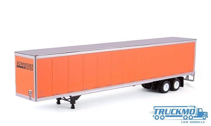 Tonkin 53' Van Trailer Schneider