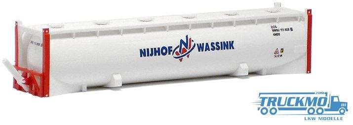 AWM Nijhof & Wassink 40ft. Drucksilo Container 491268