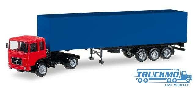 Herpa MiniKit MAN F8 Koffer-Sattelzug 012799