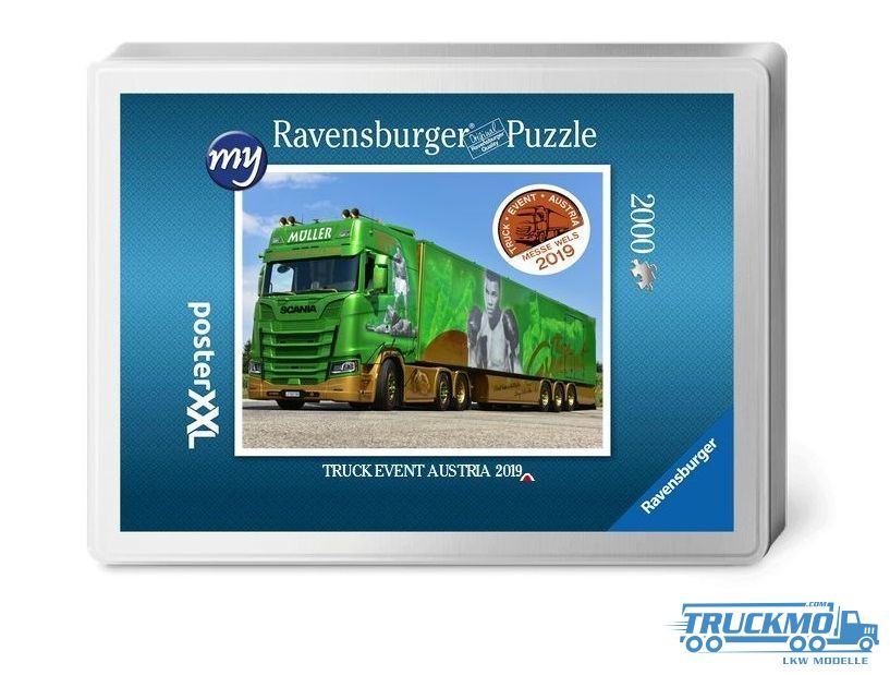 ravensburger truck puzlle lkw puzzle lkw. Black Bedroom Furniture Sets. Home Design Ideas