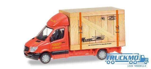 Herpa Spedition Wirtz LKW Modell Mercedes-Benz Sprinter Koffer 093286