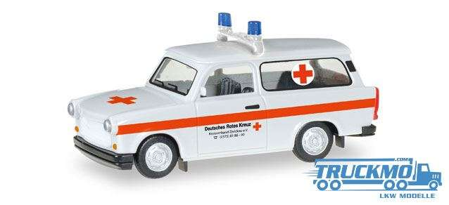 "Herpa Trabant 1.1 Universal ""DRK Zwickau"" 092852"